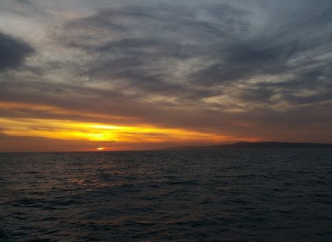 sunset maiden voyage